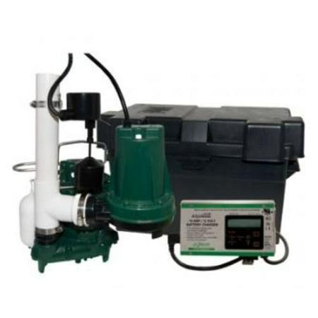 Zoeller 508-0005 Aquanot Model 508 12V Backup Submersible Sump Pump