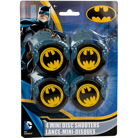 Mini Batman Disc Shooter Party Favors, 4ct](Batman Wholesale)