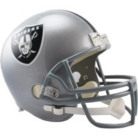 Riddell Oakland Raiders VSR4 Full-Size Replica Football Helmet