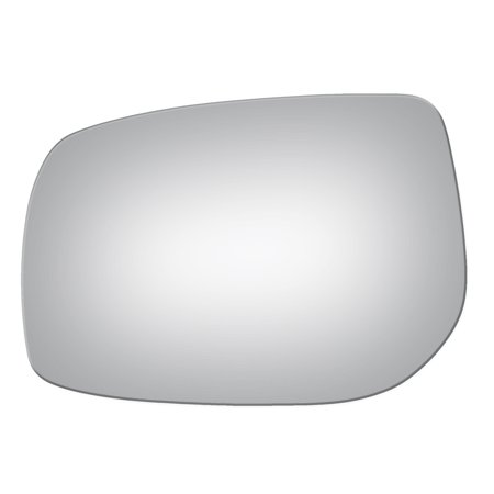 Burco 4271 Driver Side Replacement Mirror Glass for 09-13 Toyota Corolla, (2004 Toyota Corolla Driver Side Window Glass)