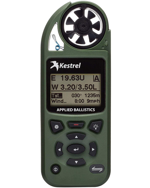 Kestrel Sportsman Weather Meter with Applied Ballistics with LiNK Coyote Brown 0857SLBRN