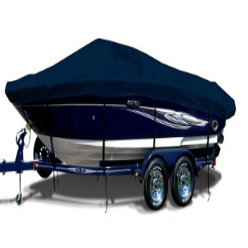 Captain Navy Exact Fit Boat Cover Fitting 1999 Mastercraft X-star Covers Wakeboard Pylon Doesn't Cover Swim Platform I B... by