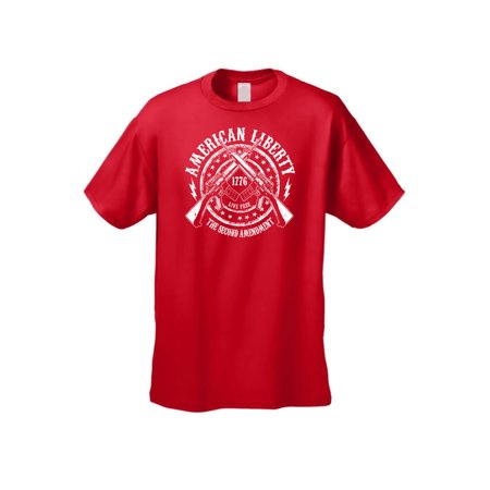 Liberty State Tee - Men's T Shirt American Liberty The 2nd Amendment Tee