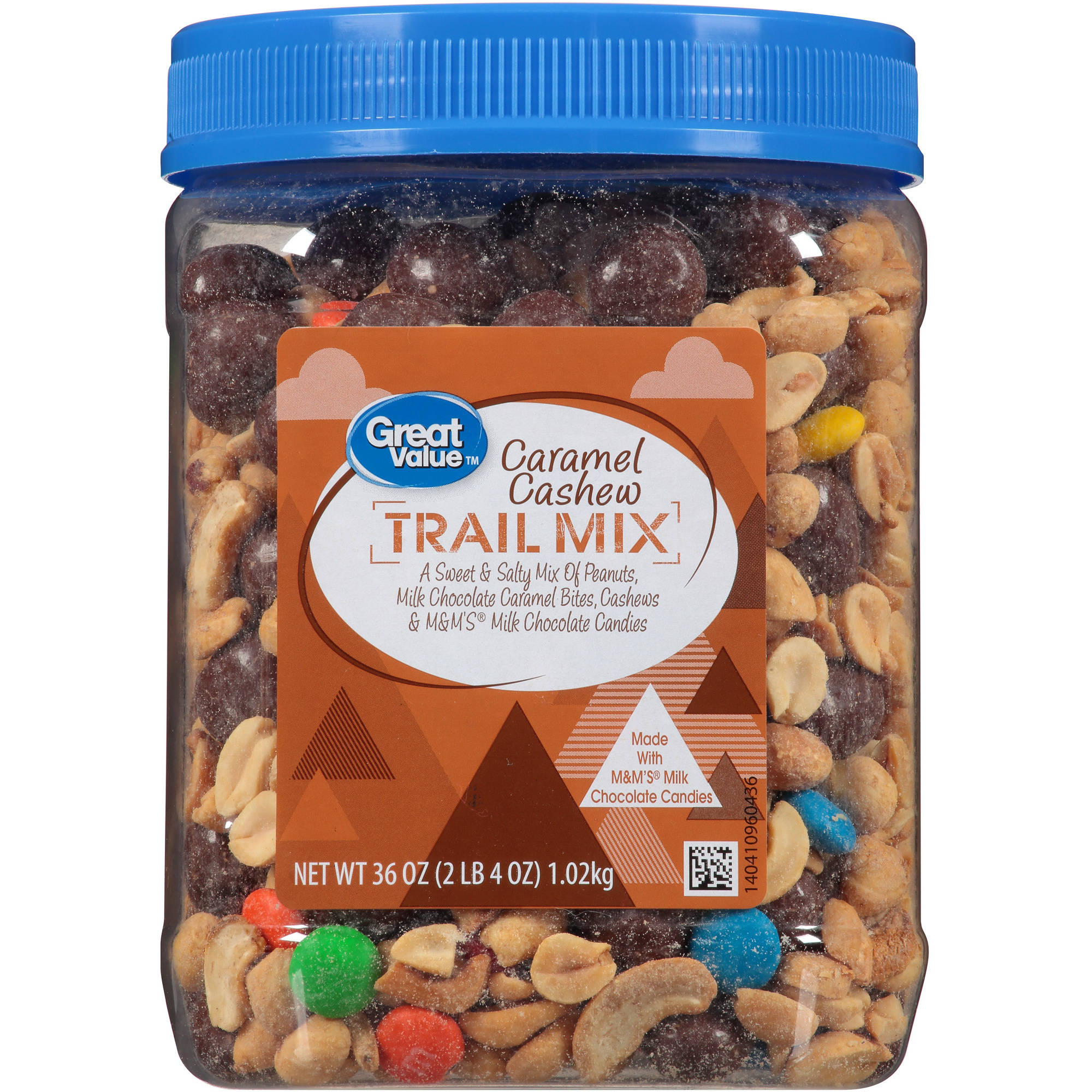 Great Value Caramel Cashew Trail Mix, 36 Oz.