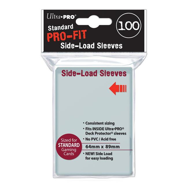 Ultra Pro Ulp84649 Pro Fit Side Loading Inner Sleeves