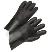 West Chester Glove Size L PVCChemical Resistant Gloves,J214