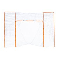 EZGoal Portable Folding Lacrosse Practice Goal with Backstop and Targets