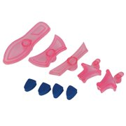 High-heeled Shoes Shaped Cake Pastry Fondant Mold Plunger Cutter Stamp Set