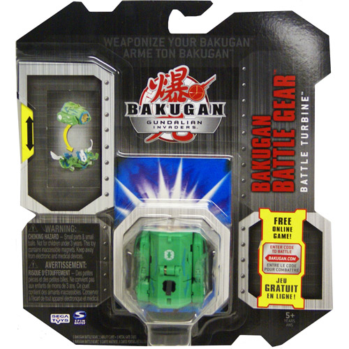 Bakugan Battle Gear Zephyroz Battle Turbine [Green]