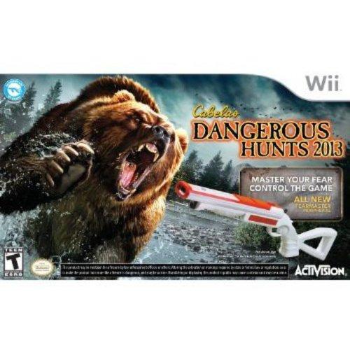 Cabela's Dangerous Hunts 2013 With Gun (Wii)
