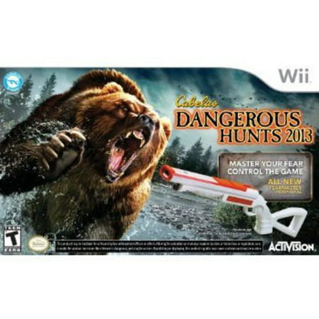 Cabela's Dangerous Hunts 2013 With Gun (Wii)