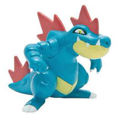Pokemon Evolution Feraligatr Figure [Loose (No Package)]