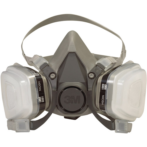 3m 6211PA1-A Dual Cartridge Paint Spray Respirator
