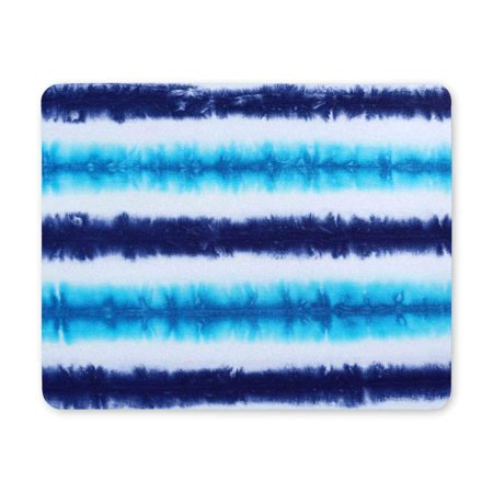 POP Striped Tie Dyed Pattern Abstract Rectangle Non-Slip Rubber Mousepad Mat 9x10 inch - image 2 of 2