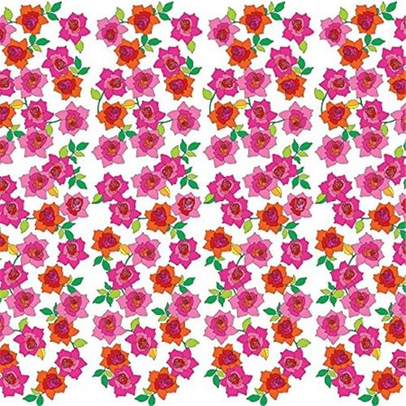 Wallcandy Arts 1275 94 x 26 in. Wallpaper Half Kit French Bull Rose ...