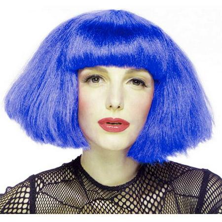 Fashionista Blue Adult Wig