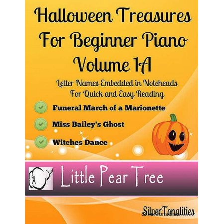 Halloween Treasures for Beginner Piano - Volume 1 A - eBook