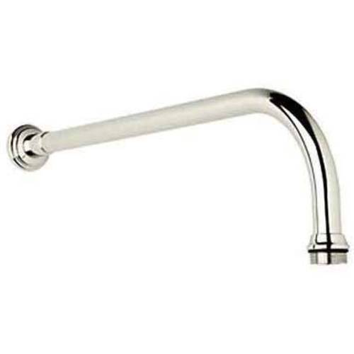 "Rohl U5384 Perrin and Rowe 15"" Wall Mounted Shower Arm, Available in Various Colors"