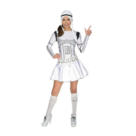 Star Wars Womens Female Storm Trooper Halloween Costume for $<!---->