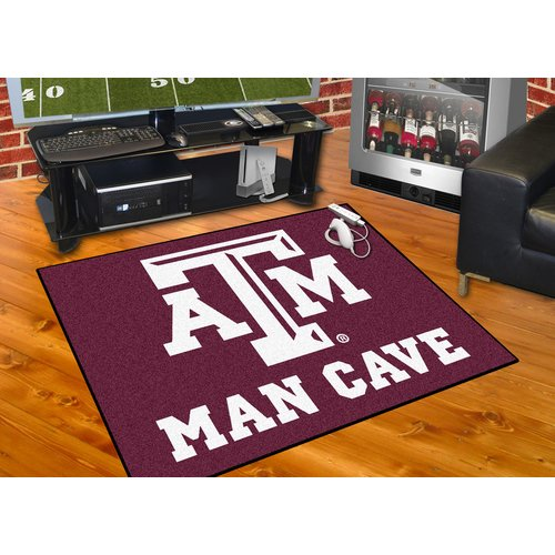 "Texas A&M Man Cave All-Star Mat 33.75""x42.5"""