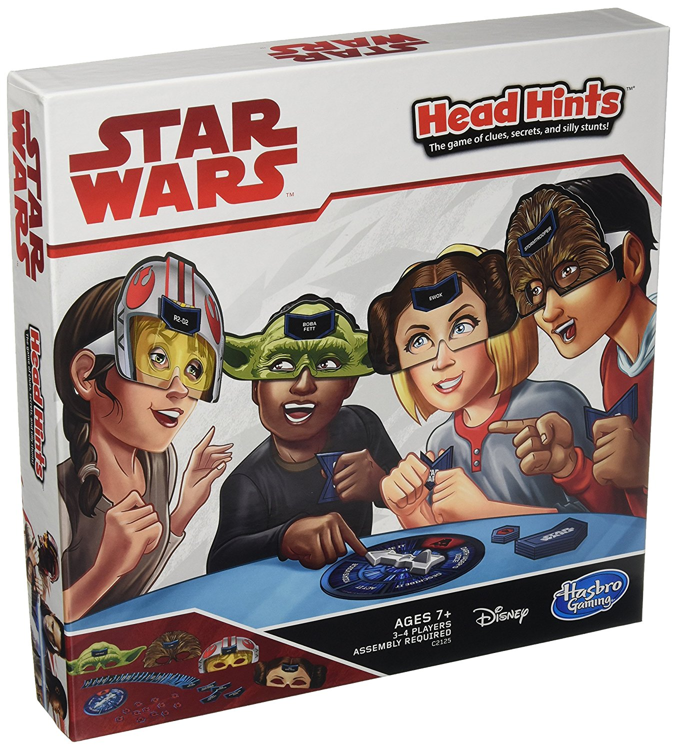 Head Hints: Star Wars Edition, The game of clues, secrets, and silly stunts By Hasbro by