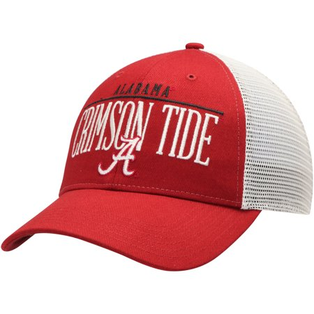 Men's Crimson Alabama Crimson Tide Straightaway Adjustable Snapback Hat -