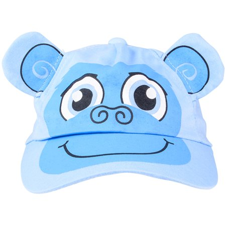 Kids Adjustable Blue Monkey Animal Zoo Baseball Cap Hat Costume Accessory - Monkey Baseball