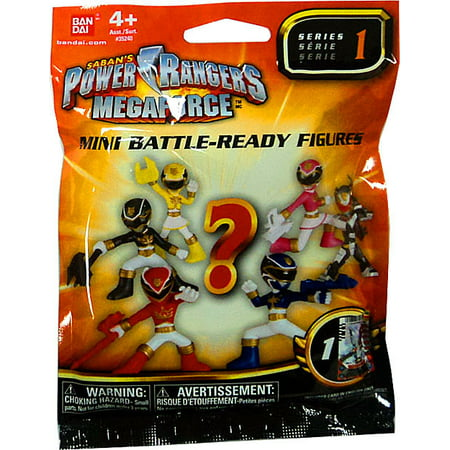 Power Rangers Megaforce Series 1 Mini Battle-Ready Figures Mystery Pack](Power Rangers Megaforce Halloween Special)