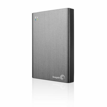 Seagate Wireless Plus Stcv2000100 2 Tb External Network Hard Drive   Wireless Lan   Usb 3 0   Gray  Stcv2000100