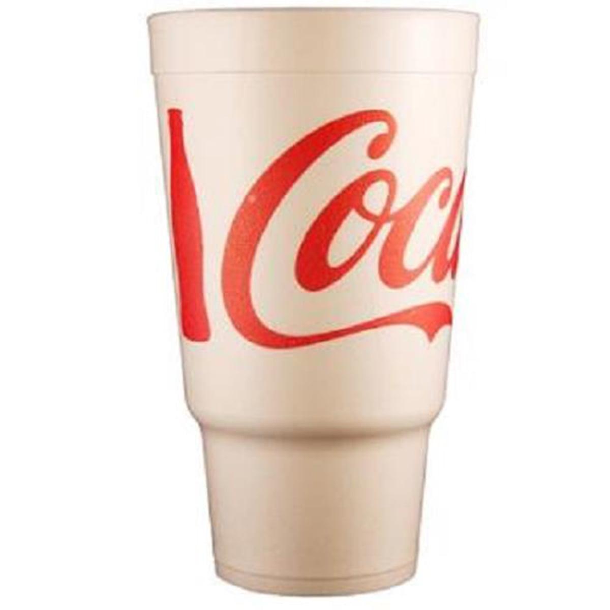 Product Of Dart, Foam Cup Coke 32 oz, Count 400 - Cups/Plate/Bowls / Grab Varieties & Flavors