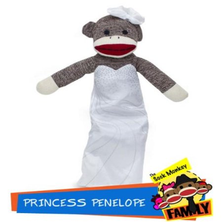 Princess Penelope from The Sock Monkey Family