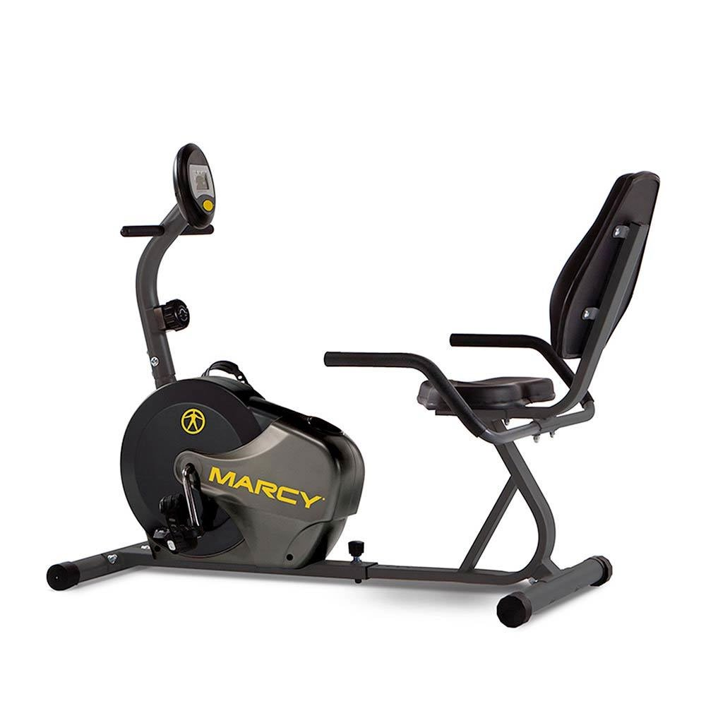 Marcy Pro Magnetic Stationary Recumbent Gym Fitness Exercise Cycle Bike Bicycle