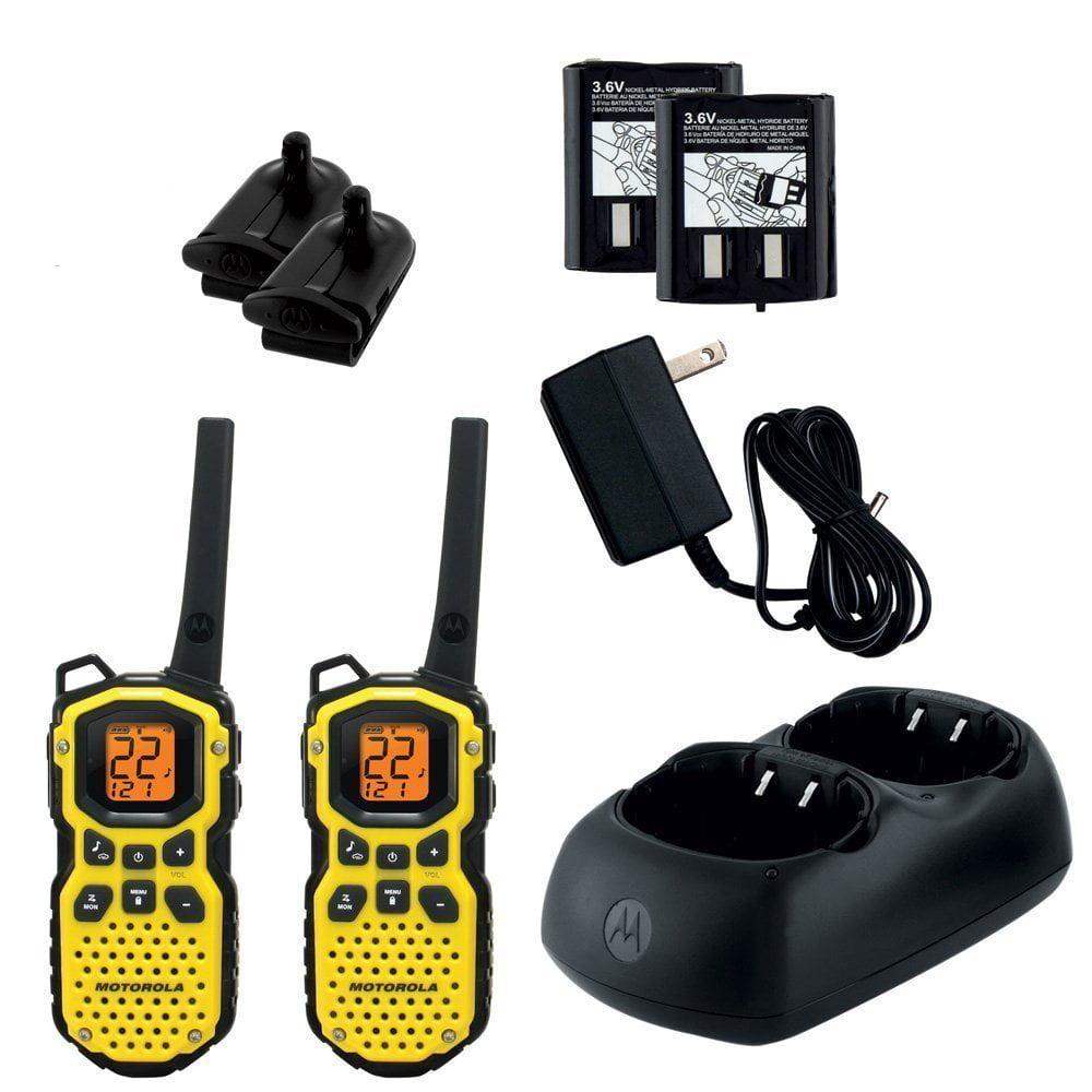 Motorola MS350R 35_Mile Talkabout Waterproof 2_Way Radio ...