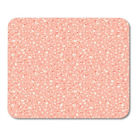 LADDKE 1960S Pink 50S Retro Pattern with Scattered Microscopic Dots in 1950S Style for Fall Summer Ditsy 60S Mousepad Mouse Pad Mouse Mat 9x10 inch