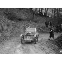 MG M Type 12 - 12 replica of Viscount Curzon, MG Car Club Trial, Waterworks Hill, Tring, 1931 Print Wall Art By Bill Brunell