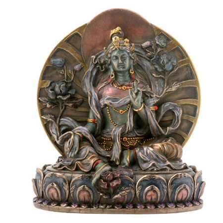 Small Green Tara Hindu Mahavidyas Great Wisdom Goddess Hinduism Figurine