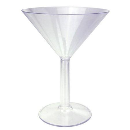 Plastic Martini Glass 9