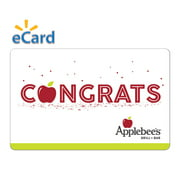 Applebee's Congrats $15 Gift Card (Email Delivery)