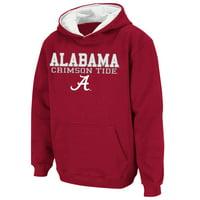 Alabama Crimson Tide Stadium Athletic Youth Stack II Hoodie - Crimson