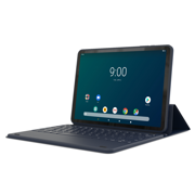 Refurbished Onn 100005209 10.1 inch GB RAM +16GB ROM1.3GHz Quad Core processor 1280 x 800 Android Tablet With Detachable Keyboard, Navy
