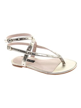 f551d502f Product Image Women s Nine West Simcha Ankle Strap Thong Sandal
