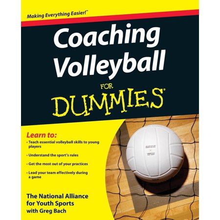 For Dummies: Coaching Volleyball for Dummies (Paperback) - Crash Test Dummy For Sale