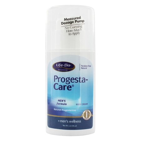 Life-Flo - Progesta-Care Natural Progesterone Body Cream Men's Formula - 3
