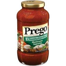 Pasta Sauce: Prego Garden Harvest