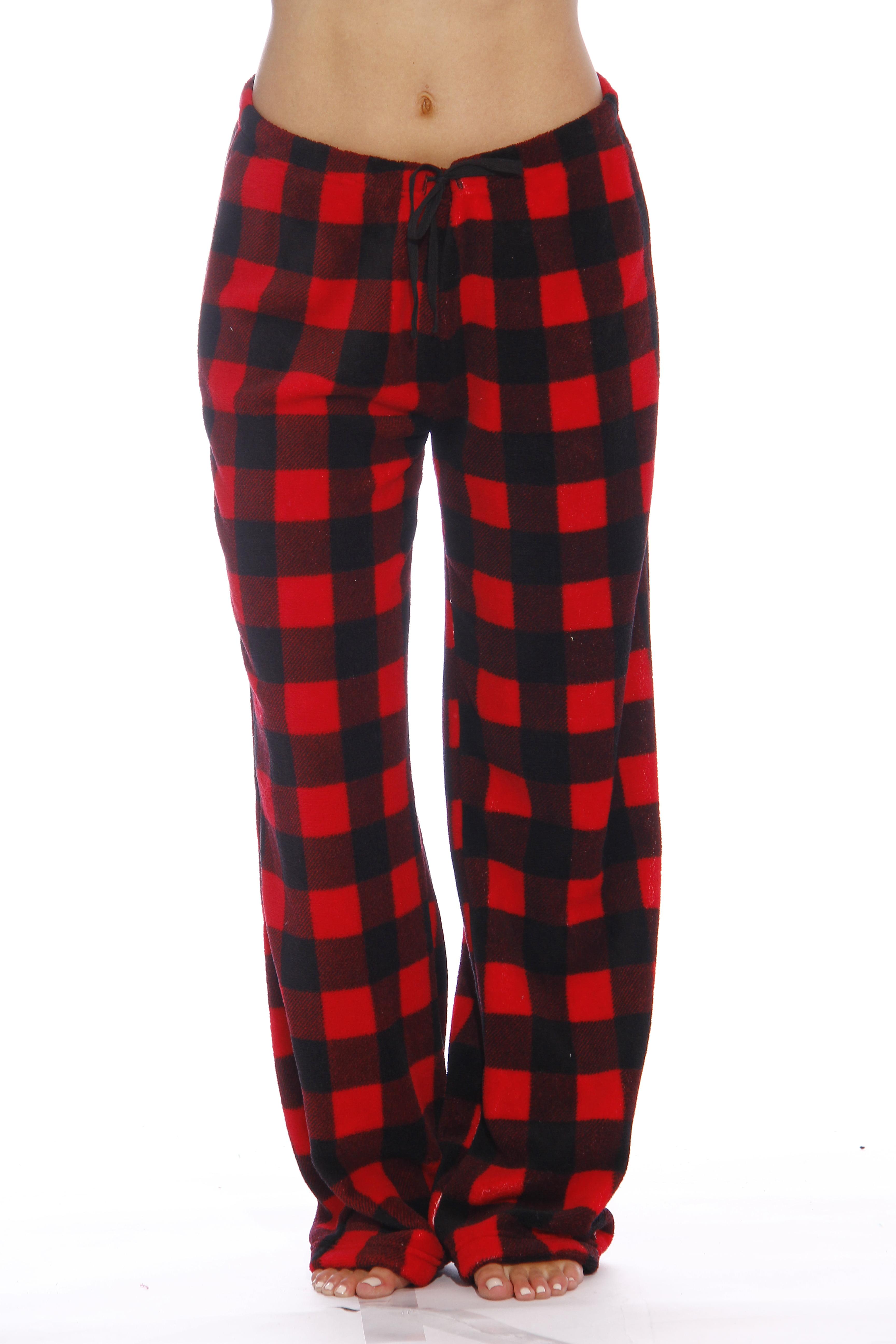 Just Love Women's Plush Pajama Pants - Petite to Plus Size Pajamas ...