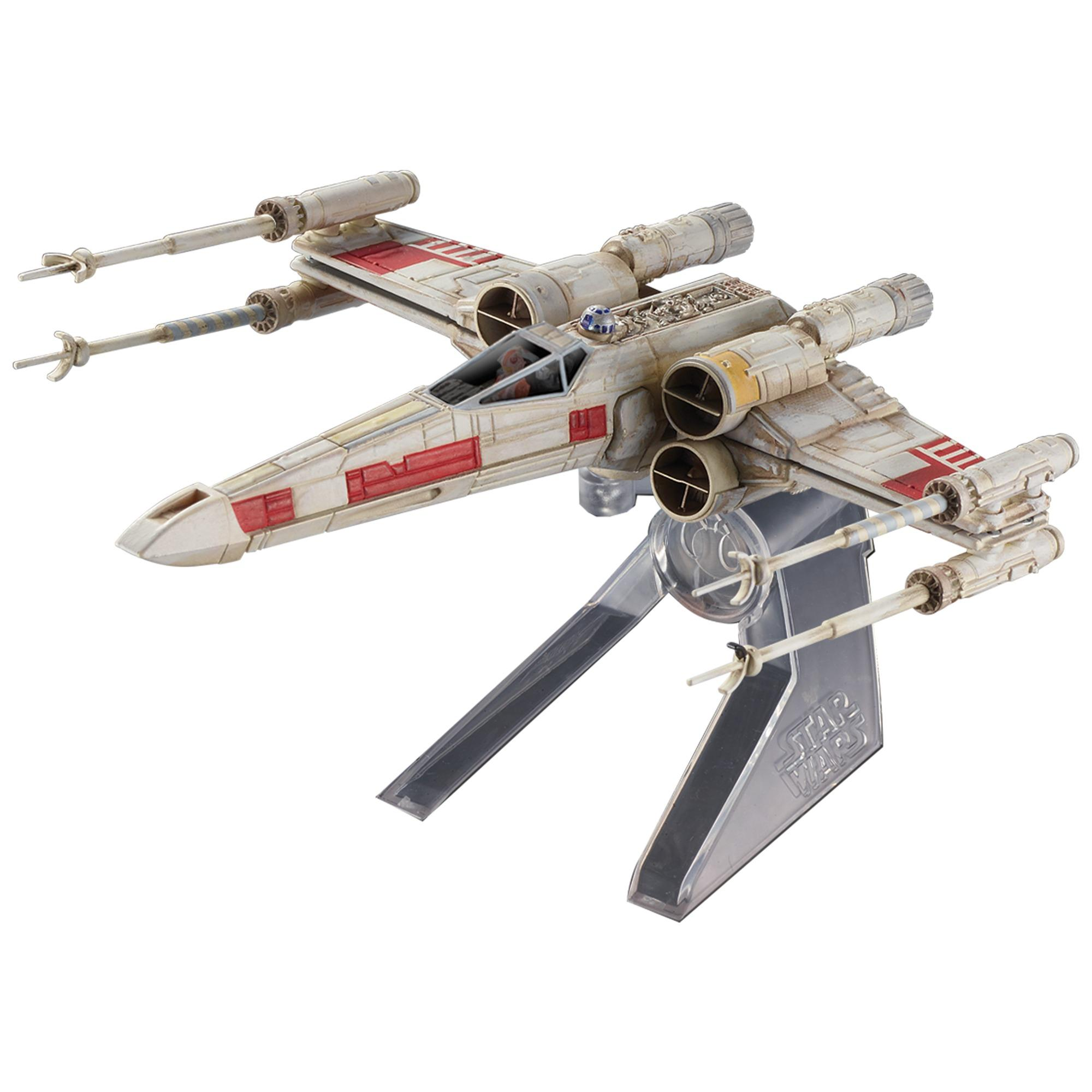 Hot Wheels Star Wars X-Wing Starfighter Red Five Starship
