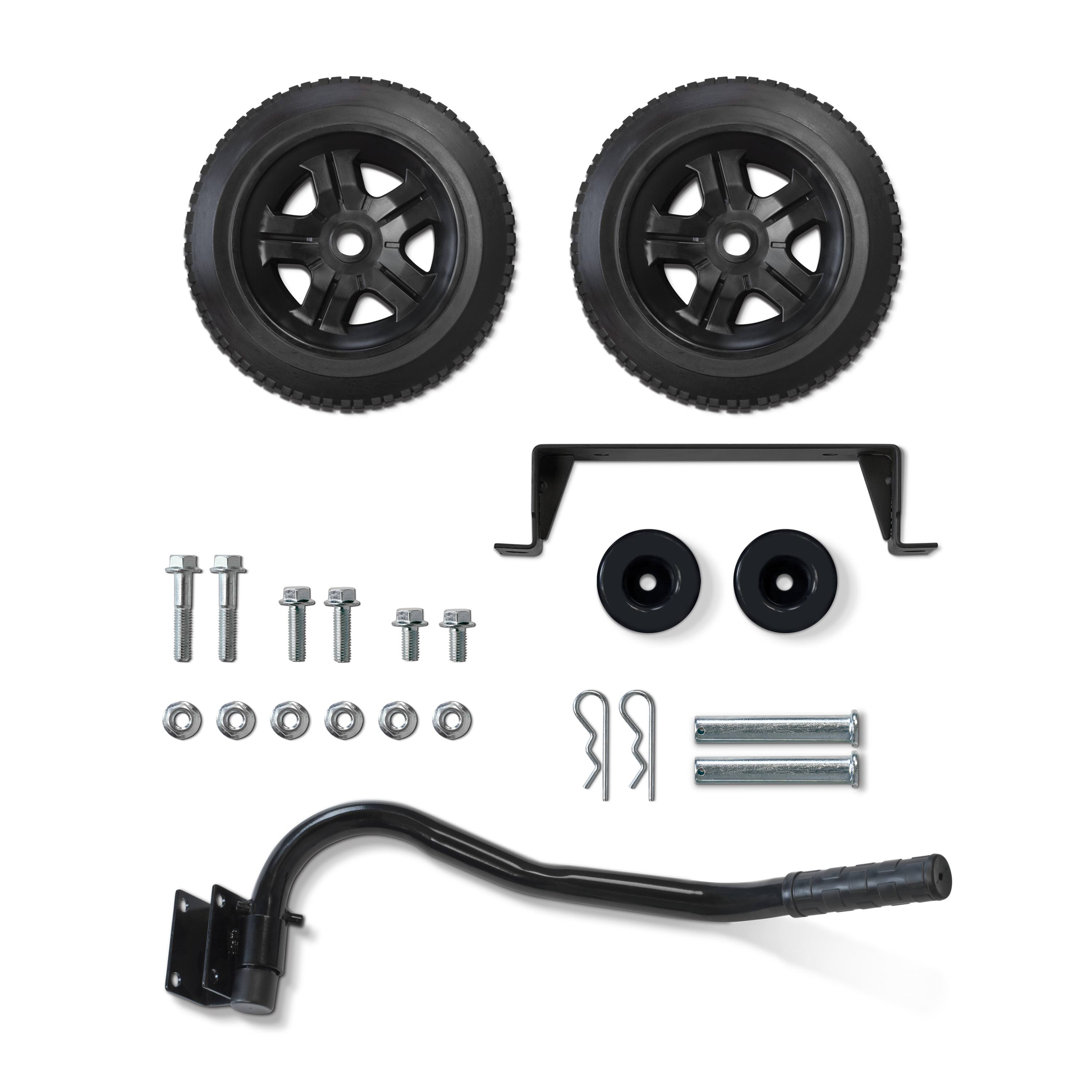 Champion Generator Wheel Kit with Axle, Folding Handle and Never-Flat Tires, 2800-4750 Watt