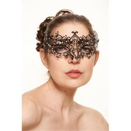 Michelle Phan Metal Laser Cut Masquerade Mask, 4 x 9 in. - One Size