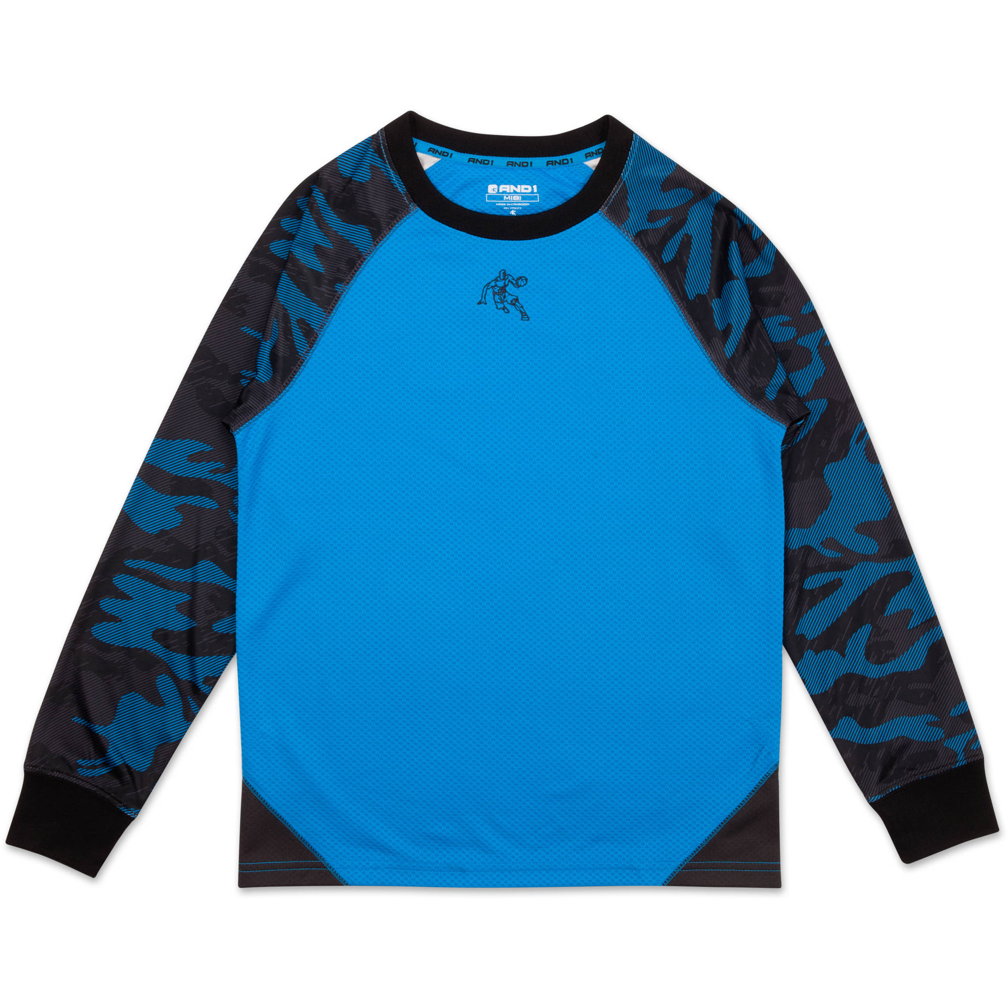 AND1 Boys Free Throw Performance Long Sleeve Top