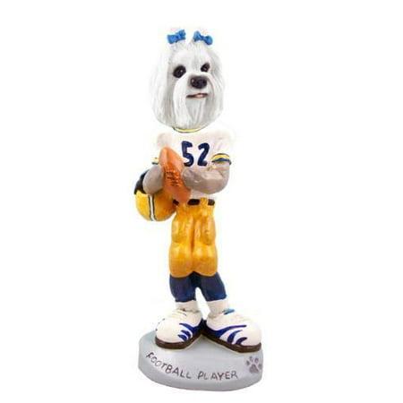 - Maltese Football Player Doogie Collectable Figurine